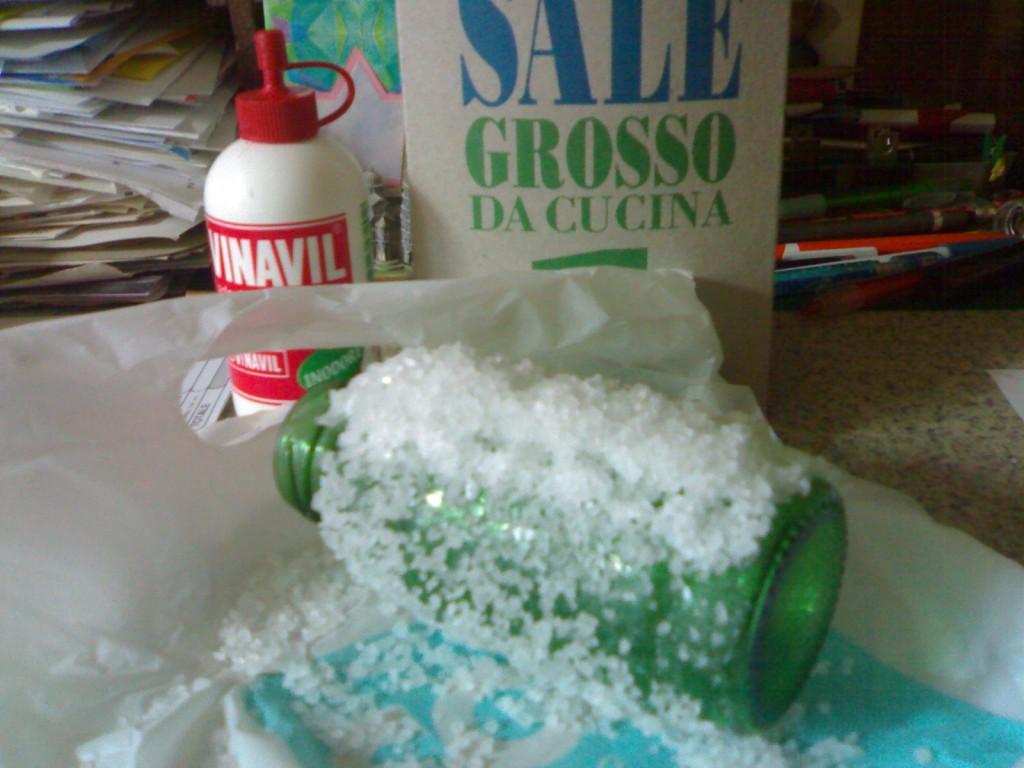 ***lampade o bottiglie di sale  IL CASSETTO DELLE IDEE