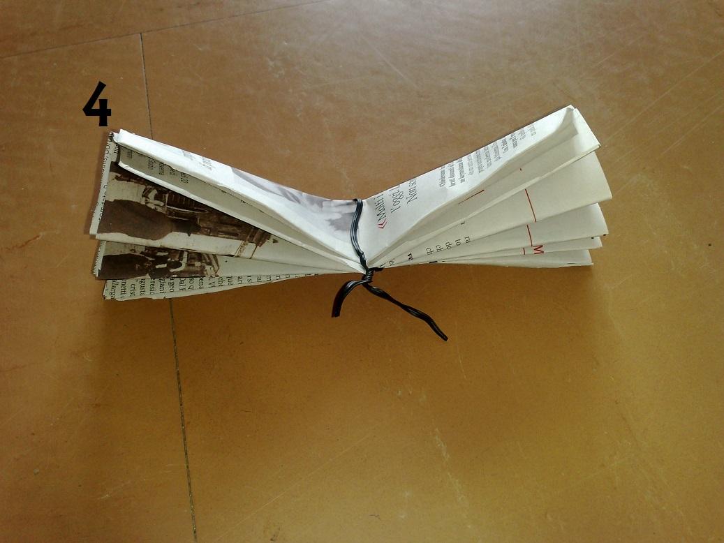 Fiori di carta il cassetto delle idee for Fiori di carta di giornale
